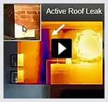 Infrared Roof Leak Detection