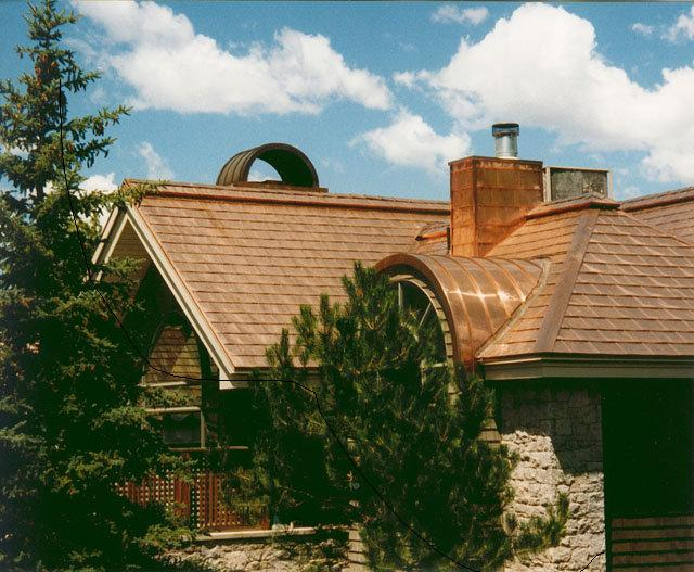 Copper Roof Shingles Roofer911 Com