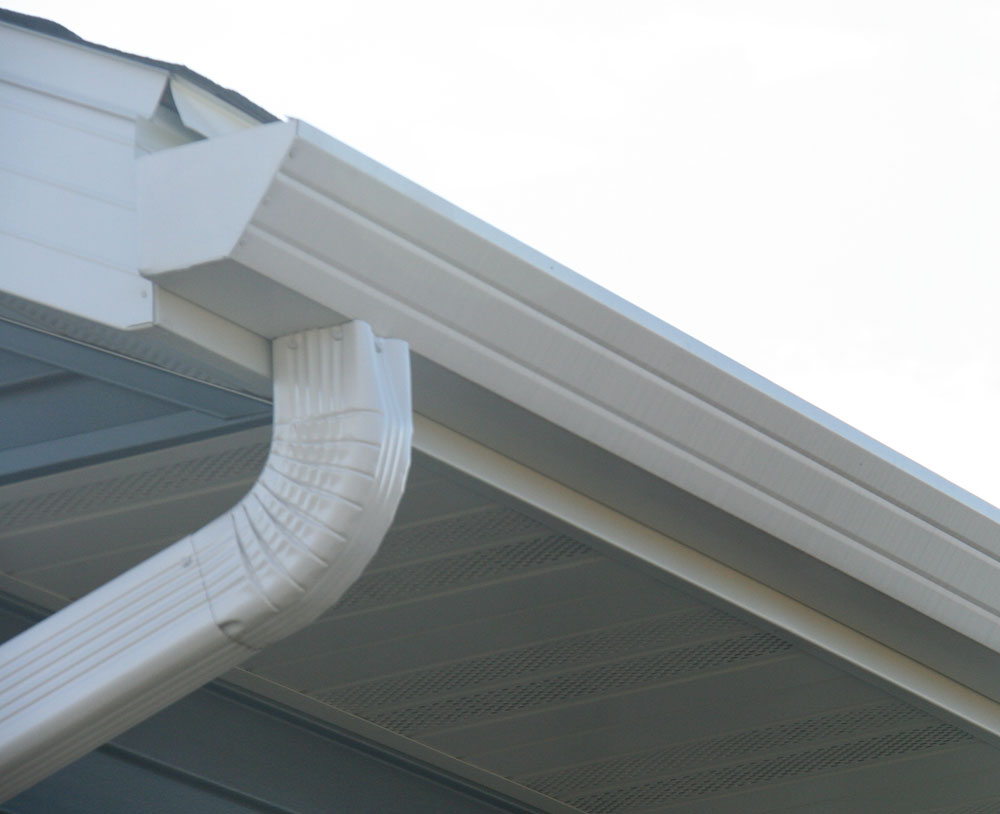 Rain gutters house gutter styles perfect rain gutters for New gutters