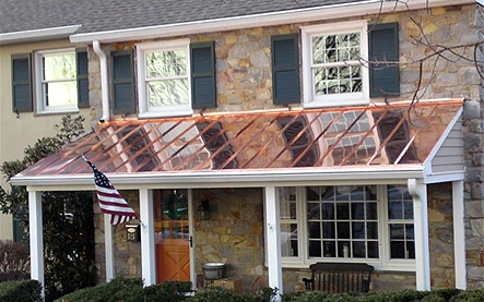 A Copper Roof Is A Long Lasting Attractive Roof