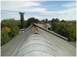 ridge vent leak repair