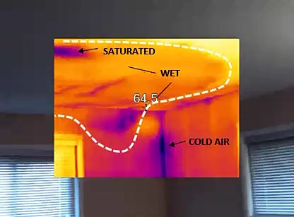 Roof Leak Causes infrared moisture detection va | 703-475-2446 | roofer 911