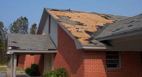 Image result for roof damage repair