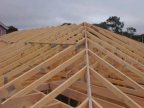 Support Your Roof Trusses Roofer911 Com