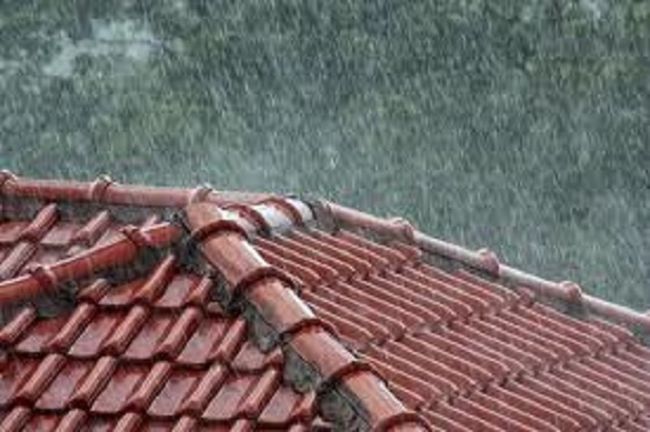 Rain and Wind on Shingles Cause Damages