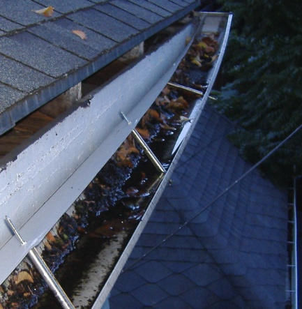 Sagging Gutters Hide Rotten Fascia Board Roofer911 Com