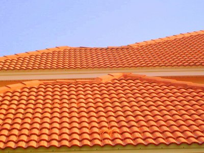 Walking On A Clay Tile Roofs Roofer911 Com