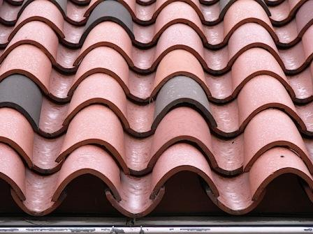 barrel tile roofing material