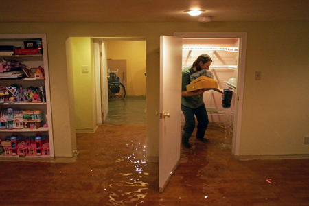 basement flooding causes include bad roofing jobs