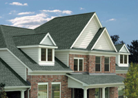roof shingle color